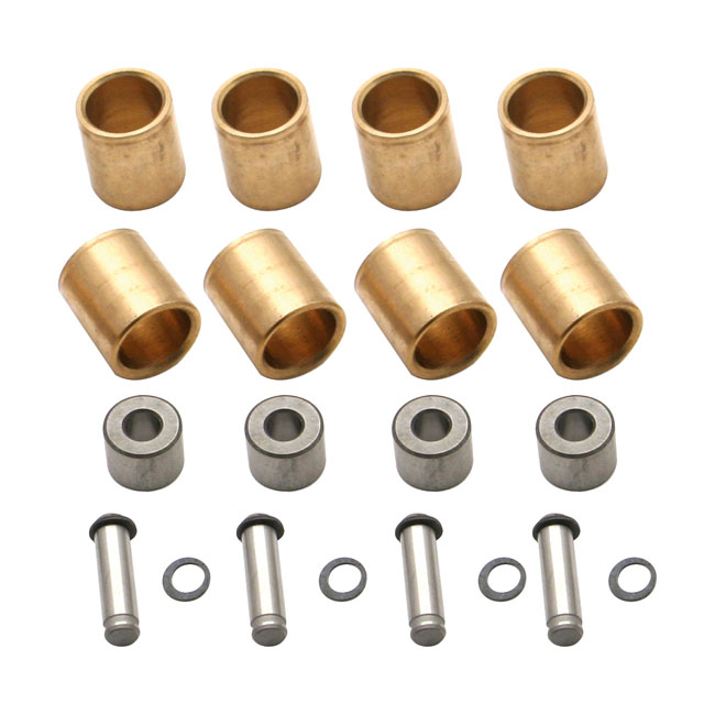 Rocker arms and shafts