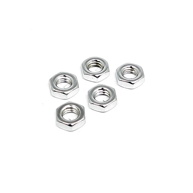 3/8-24 JAM NUT CHROME,bkr.mcsh.524690