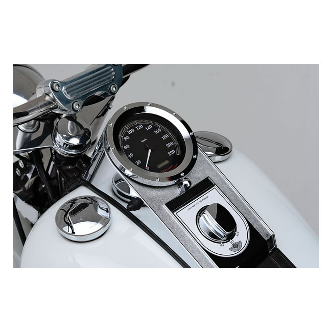 ALU BEZEL FOR SOFTAIL SPEEDO,bkr.mcsh.515034