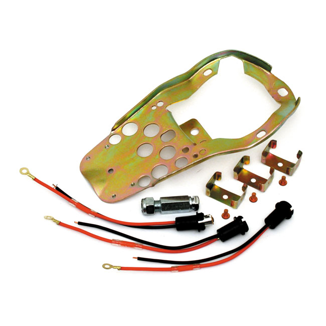 BASE PLATE MOUNT KIT, 3-LIGHT DASH,bkr.mcsh.518595