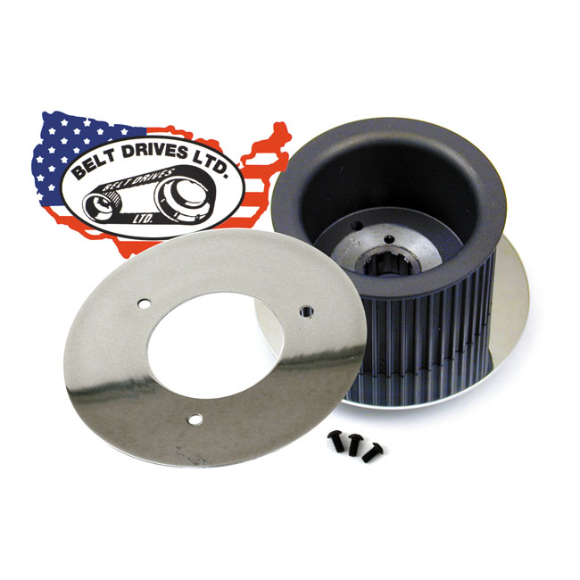 BDL POLISHED ALTERNATOR COVER PLATE,bkr.mcsh.506853