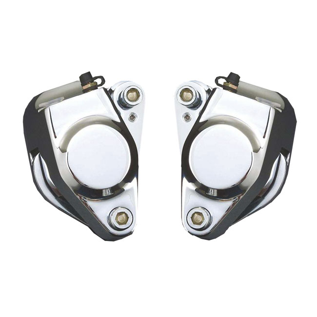 BRAKE CALIPER LEFT + RIGHT SET, FRONT,bkr.mcsh.910826
