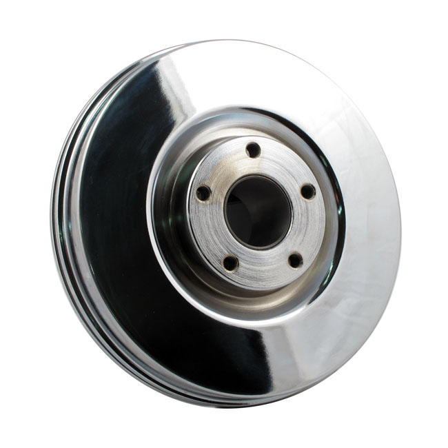 BRAKE DRUM FRONT, CHROME,bkr.mcsh.908255