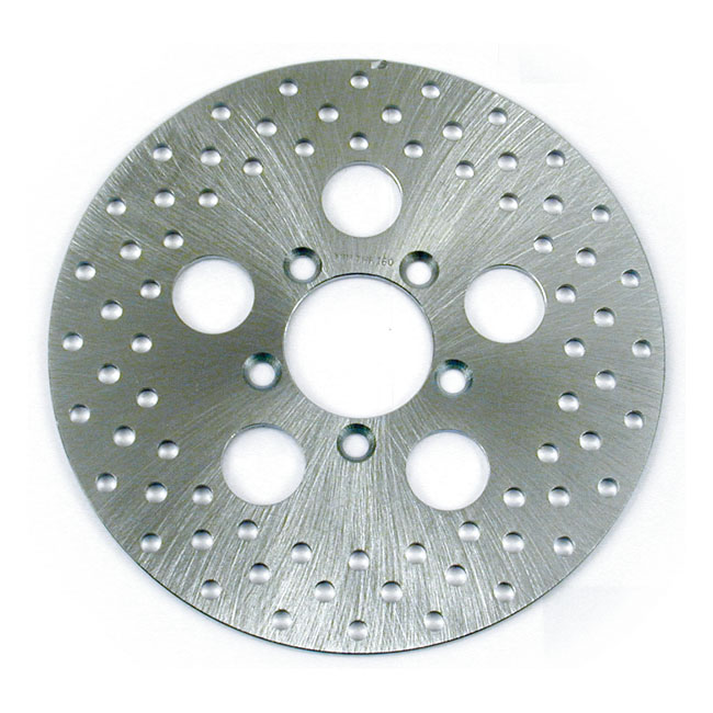 BRAKE ROTOR STAINLESS DRILLED. 10 INCH,bkr.mcsh.514700