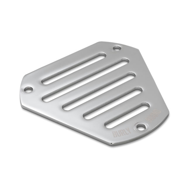 BURLY FACE PLATE SLOTTED Chrome,bkr.mcsh.563739
