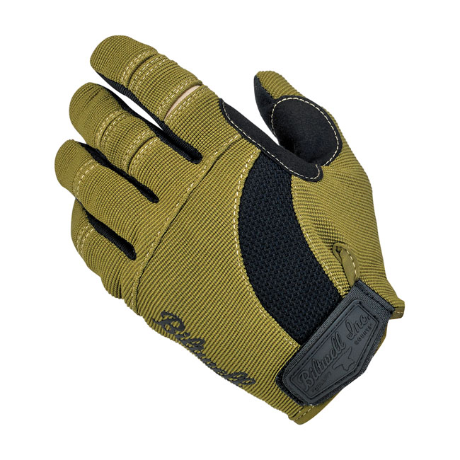 Biltwell Moto gloves olive/black/tan,bkr.mcsh.567161