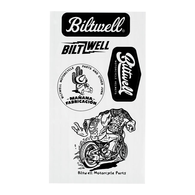 Biltwell sticker sheet A,bkr.mcsh.586851