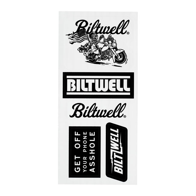 Biltwell sticker sheet B,bkr.mcsh.586852