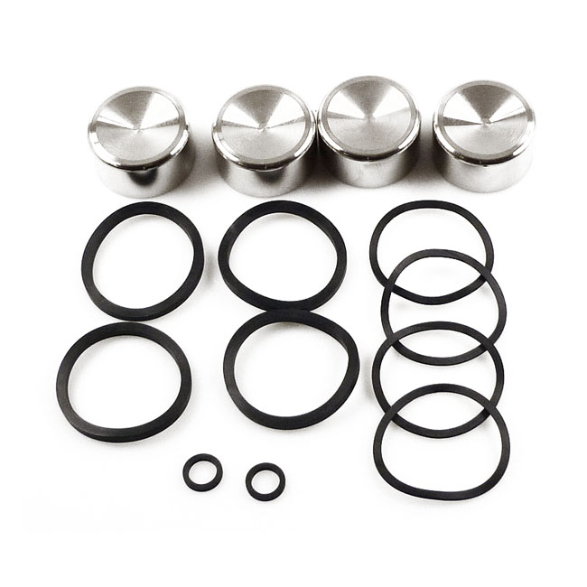 CALIPER PISTON & SEAL KIT, FRONT/REAR,bkr.mcsh.910442