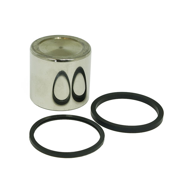 CALIPER PISTON & SEAL KIT, REAR,bkr.mcsh.910455