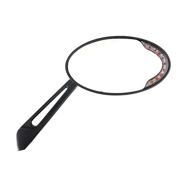CATEYE MIRROR WITH LED TURNSIGNALS,bkr.mcsh.980827