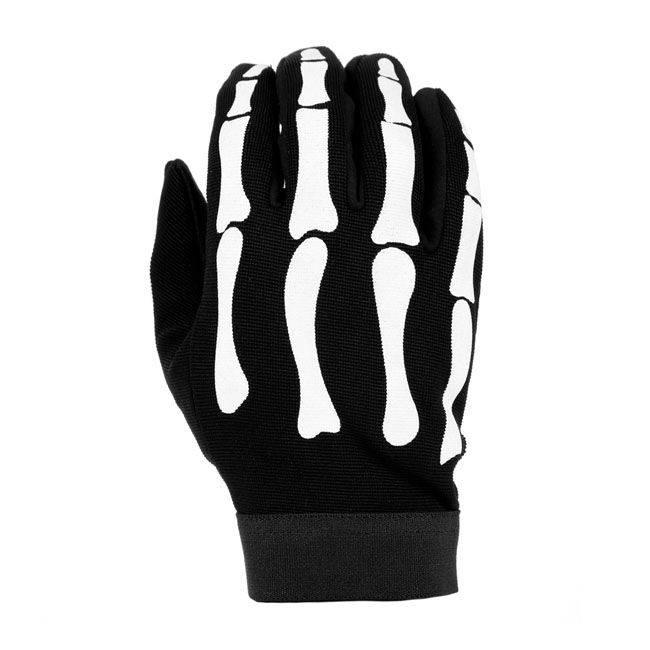 CHOPPERS MECHANIC GLOVES BONES,bkr.mcsh.545304
