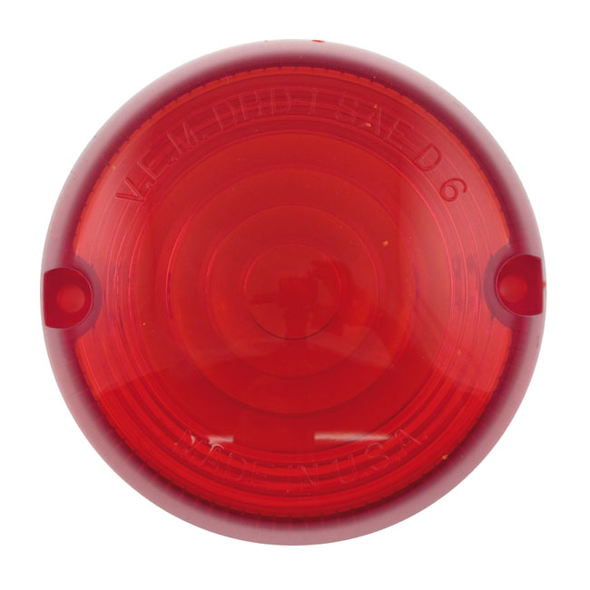 CHRIS TURN SIGNAL REPLACEMENT LENS,RED,bkr.mcsh.932013