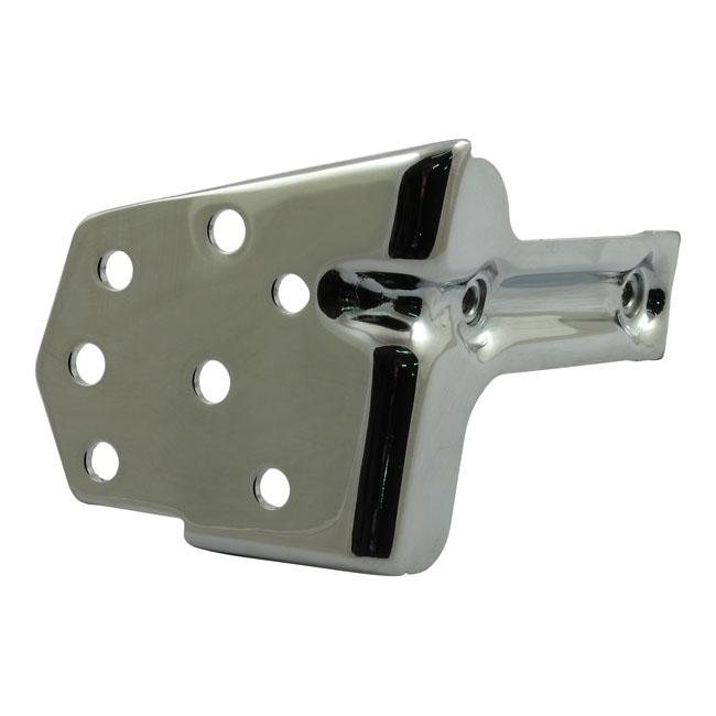 CHROME REGULATOR MOUNTING BRACKET,bkr.mcsh.508795