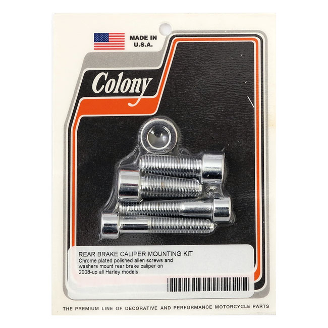 COLONY CALIPER MOUNT BOLT KIT,bkr.mcsh.929593