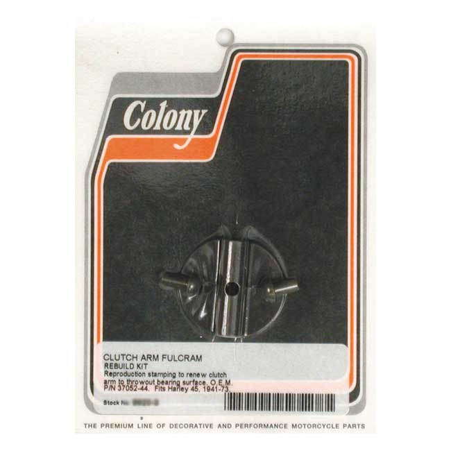 COLONY CLUTCH ARM FULCRUM REBUILD KIT,bkr.mcsh.989316