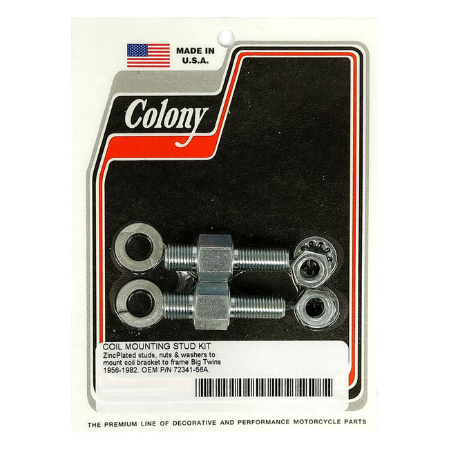 COLONY COIL MOUNT STUD KIT,bkr.mcsh.929759