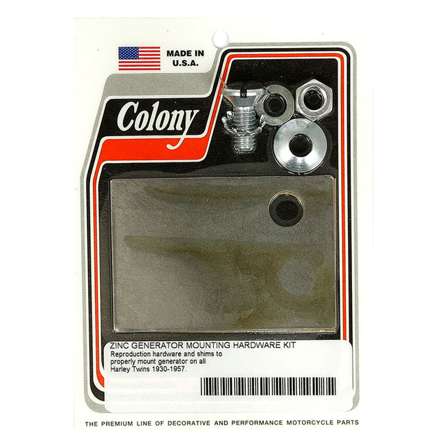 COLONY GENERATOR MOUNT KIT,bkr.mcsh.929826