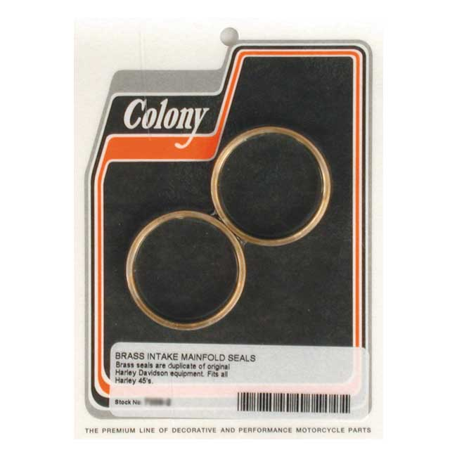COLONY MANIFOLD SEALS, PLUMBER STYLE,bkr.mcsh.989136