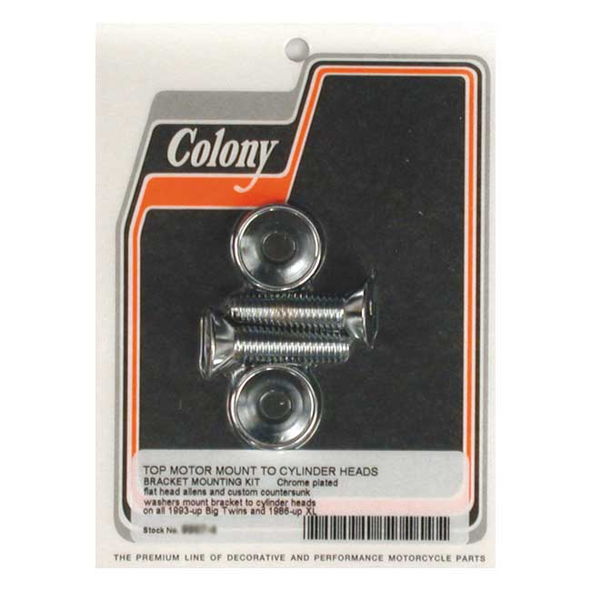 COLONY MOTOR MOUNT BOLT KIT,bkr.mcsh.990153