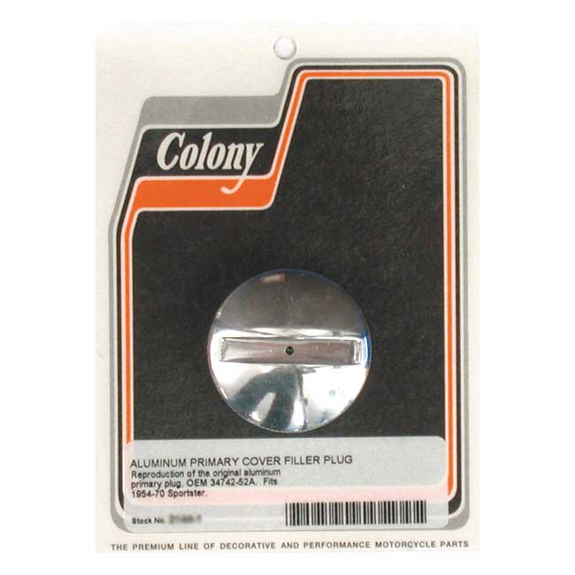 COLONY XL PRIMARY CASE PLUG,bkr.mcsh.989883