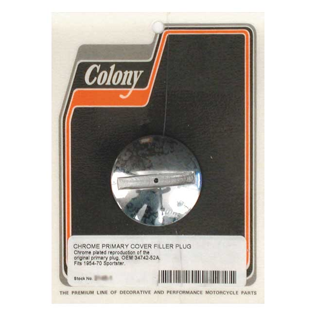 COLONY XL PRIM. CASE PLUG,bkr.mcsh.989884