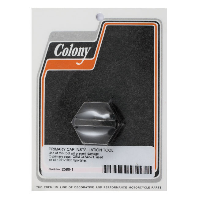 Colony, XL primary filler & inpection plug tool,bkr.mcsh.978447