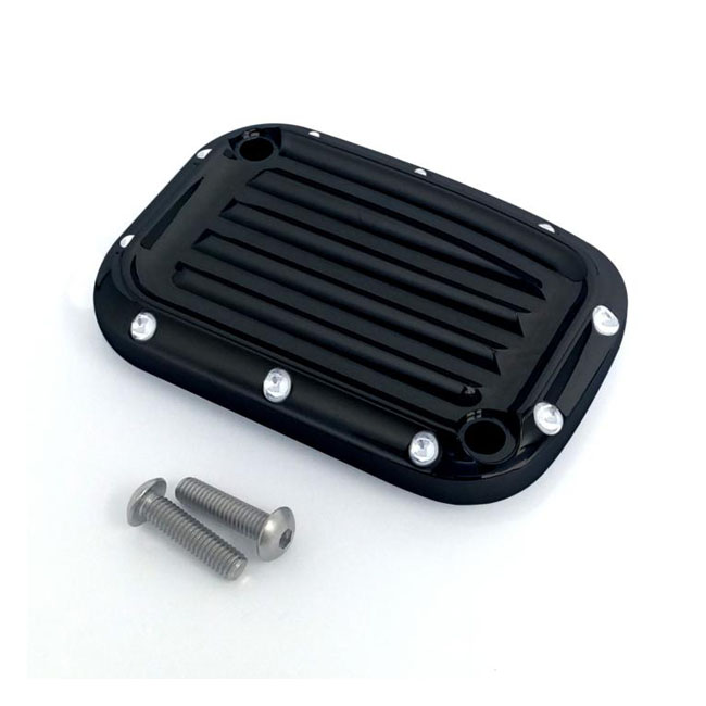 Covingtons clutch master cylinder cover Dimpled black,bkr.mcsh.572233