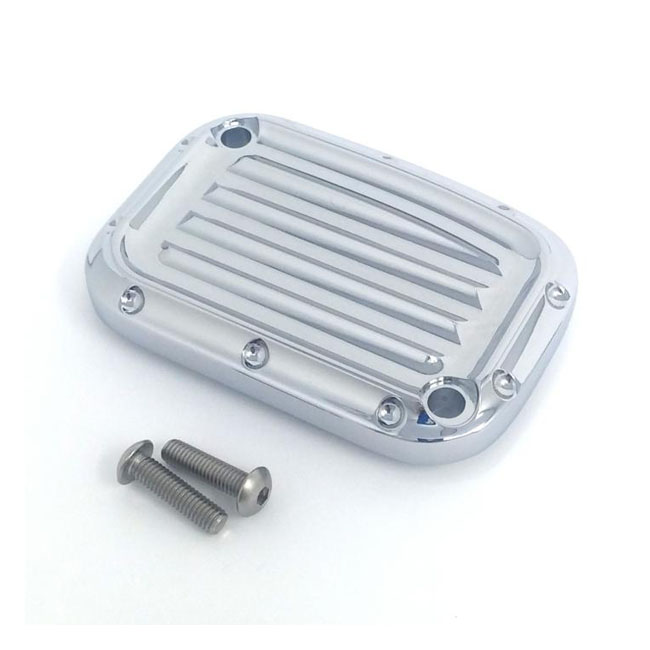 Covingtons clutch master cylinder cover Dimpled chrome,bkr.mcsh.572234