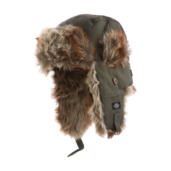 DICKIES TROUT CREEK TRAPPER HAT,bkr.mcsh.992993