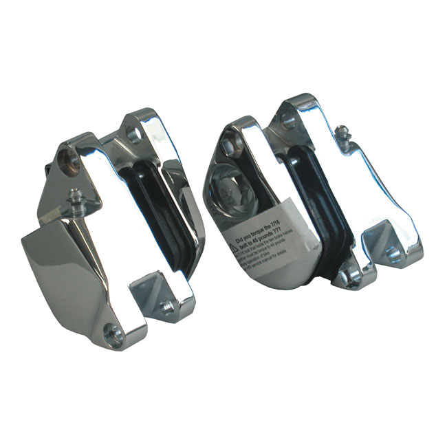 DUAL DISC CALIPER SET, CHROME,bkr.mcsh.910820