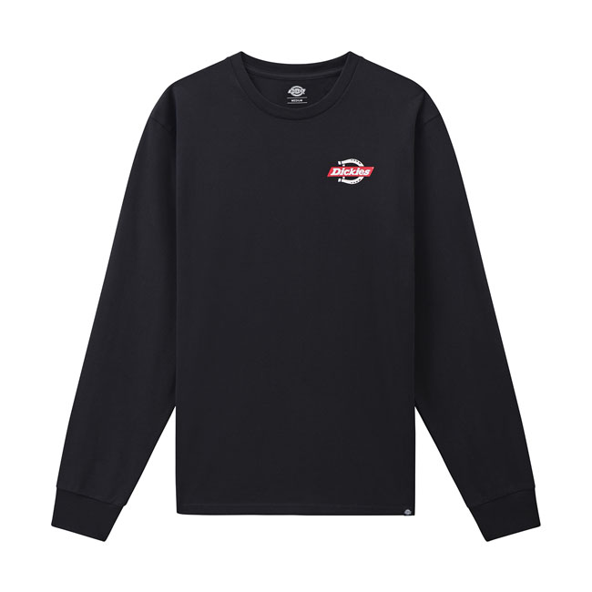 Dickies Ruston long sleeve T-shirt black,bkr.mcsh.593926