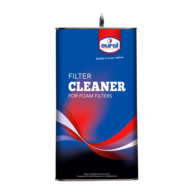 Eurol, foam air filter cleaner. 5 liter,bkr.mcsh.904059