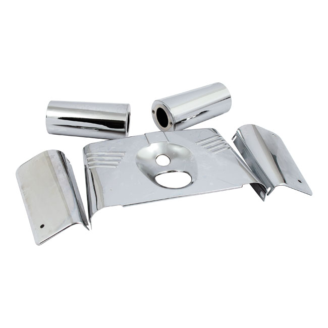 FORK PANEL KIT, CHROME,bkr.mcsh.901201