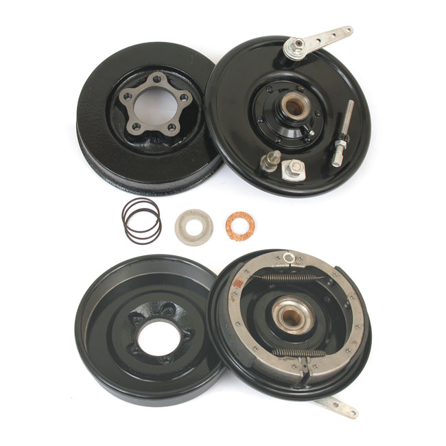 FRONT BRAKE DRUM KIT, BLACK,bkr.mcsh.903797