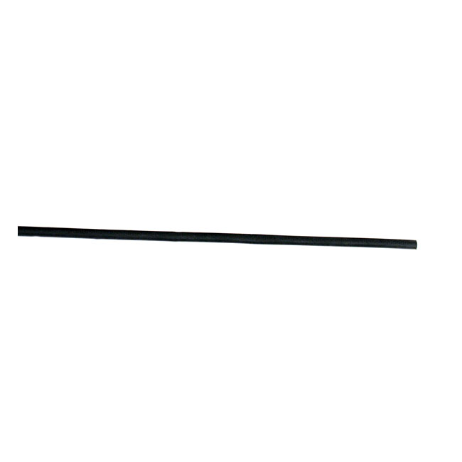 HEAT SHRINK TUBE, 1/8. BLACK,bkr.mcsh.905646