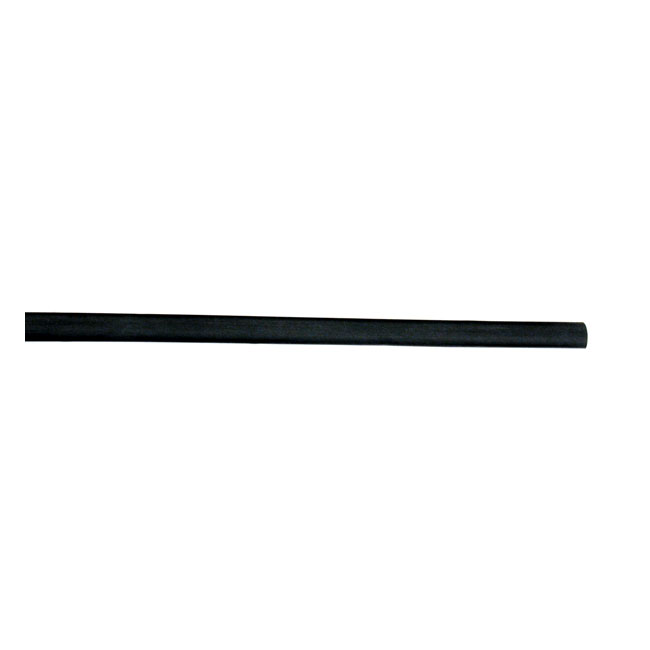 HEAT SHRINK TUBE, 3/16. BLACK,bkr.mcsh.905644