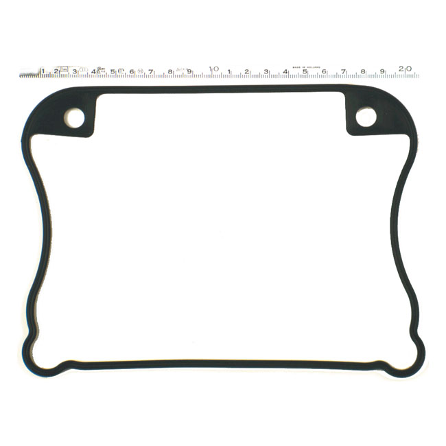 JAMES LOWER ROCKER CVR GASKET. RUBBER,bkr.mcsh.905051