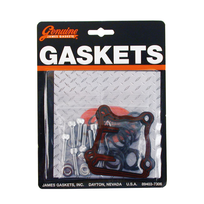 JAMES TAPPET BLOCK & PUSHROD GASKET KIT,bkr.mcsh.526016