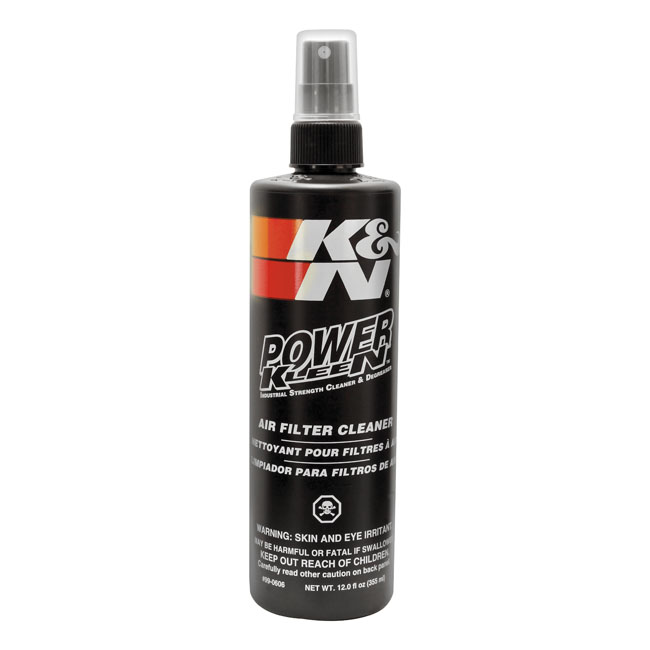 K&N, Power Kleen air filter cleaner. 355cc,bkr.mcsh.517268
