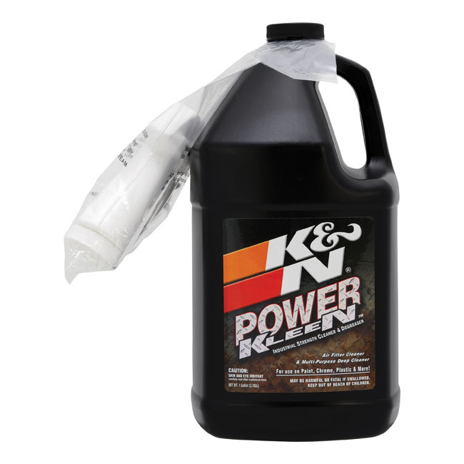 K&N, Power Kleen air filter cleaner. 3.79 liter,bkr.mcsh.516266