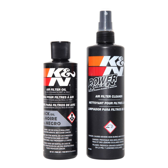 K&N, Recharger air filter service kit. Black,bkr.mcsh.576970