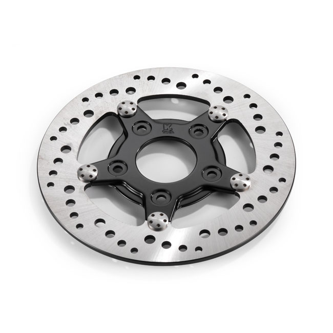 "K-Tech drilled brake rotor stainless steel 8,5"",bkr.mcsh.597546"
