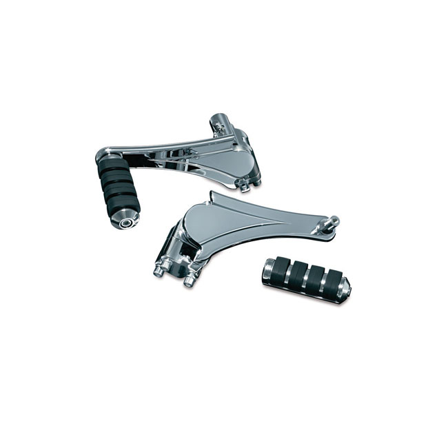 KURYAKYN ADJUSTABLE PASSENGER PEGS,bkr.mcsh.558869