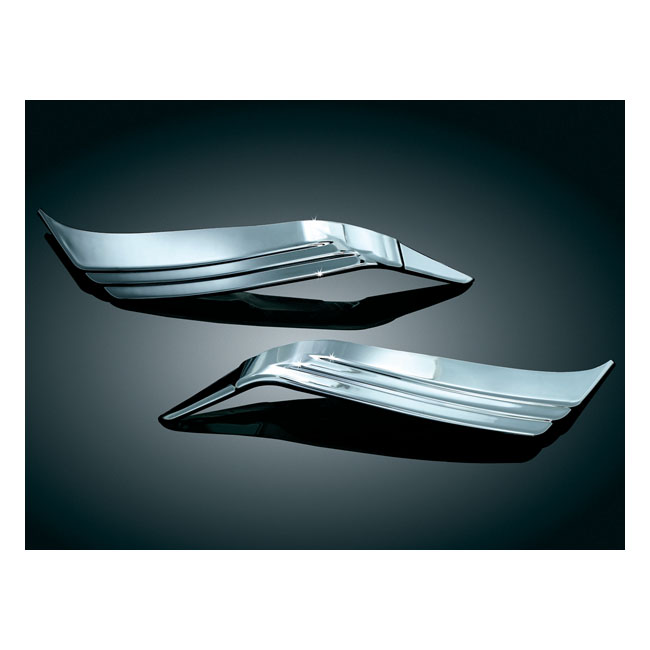 Kuryakyn trunk taillight visors chrome,bkr.mcsh.8081449