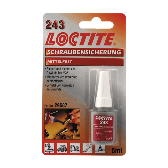 LOCTITE 243 BLUE, THREADLOCKER 5CC,bkr.mcsh.586004