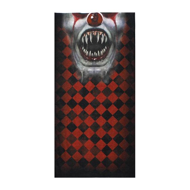 LT Clown Face tubular mask bandana,bkr.mcsh.587450