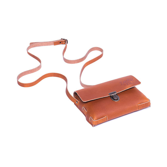 Lucky 13 Ladies Festival leather purse cognac brown,bkr.mcsh.588470