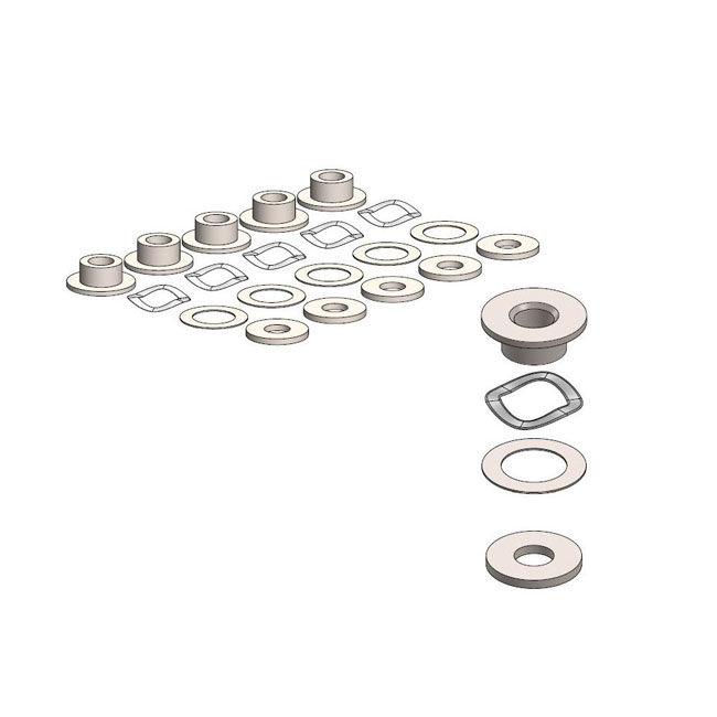 Moto-Master BMW brake rotor fitting kit,bkr.mcsh.587203