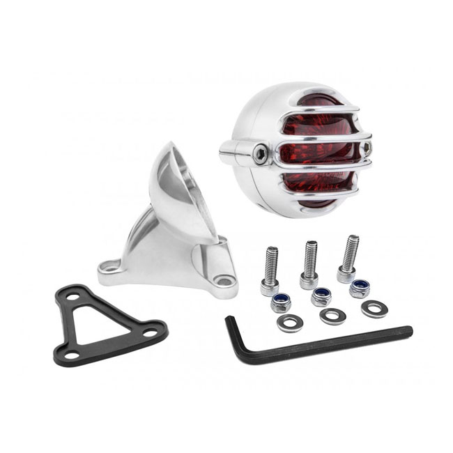 Motone Lecter Taillight with fender mount,bkr.mcsh.575386